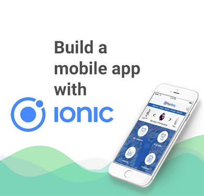 Build mobile app with Ionic