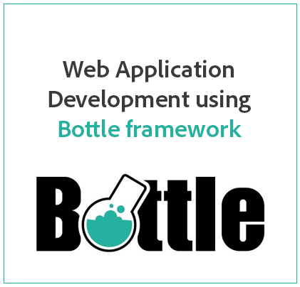 Web Application Development using Bottle framework
