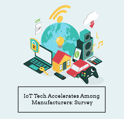 IoT Tech Accelerates Among Manufacturers: Survey